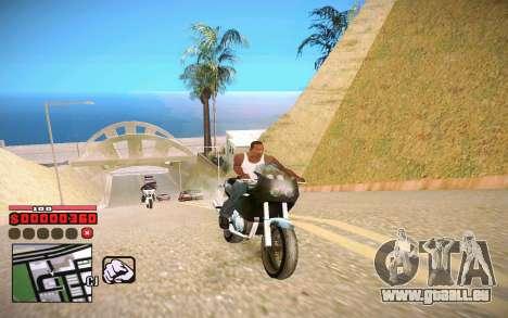 C-HUD by ComPot pour GTA San Andreas deuxième écran