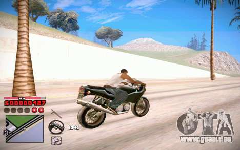 C-HUD by ComPot pour GTA San Andreas quatrième écran
