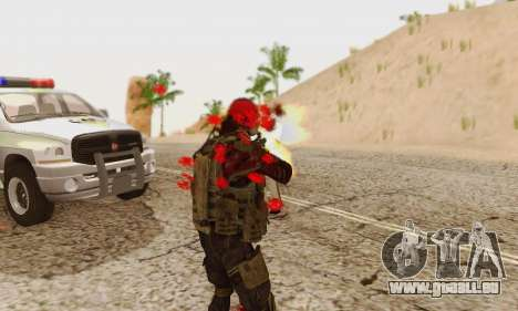 Blood On Screen für GTA San Andreas achten Screenshot