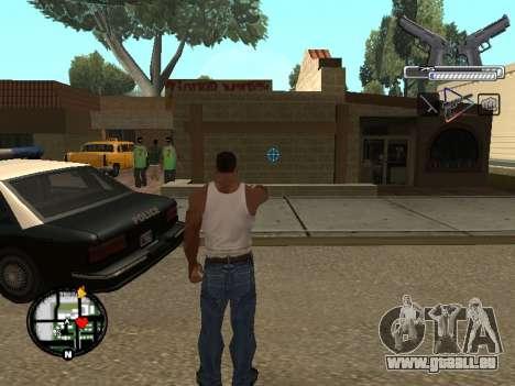 С-HUD par MoLoT pour GTA San Andreas
