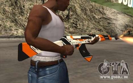 AK-47 für GTA San Andreas fünften Screenshot