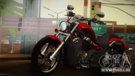 Yamaha Star Stryker 2012 pour GTA San Andreas