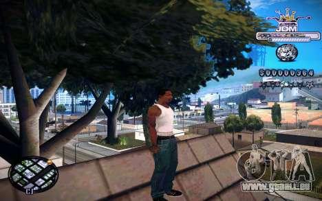 C-HUD JDM pour GTA San Andreas troisième écran