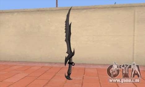 Das Schwert von Skyrim für GTA San Andreas