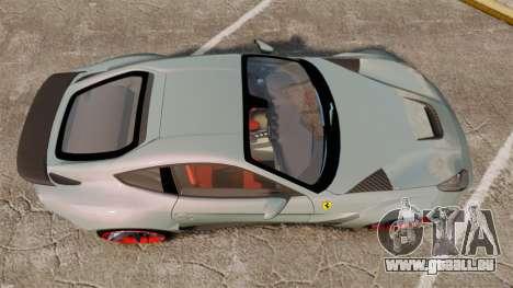 Ferrari F12 Berlinetta Novitec Rosso N-Largo für GTA 4 rechte Ansicht