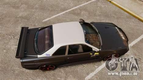 Nissan Skyline GT-R NISMO S-tune Amuse Carbon R pour GTA 4 est un droit