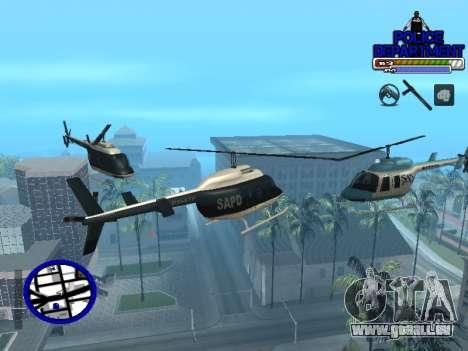 С-Hud Polizei für GTA San Andreas fünften Screenshot