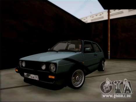 Volkswagen Golf für GTA San Andreas linke Ansicht
