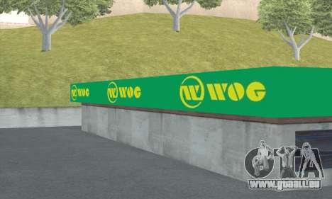 Remplissage dans le style de WOG pour GTA San Andreas septième écran