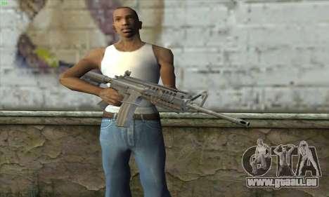 M4A1 S - System für GTA San Andreas dritten Screenshot