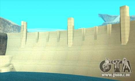 Nouveau barrage Sherman pour GTA San Andreas