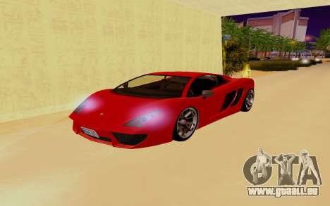 GTA 5 Pegassi Vacca pour GTA San Andreas vue de dessous