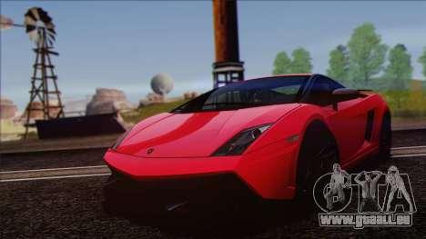 Lamborghini Gallardo LP570-4 Edizione Tecnica pour GTA San Andreas vue arrière