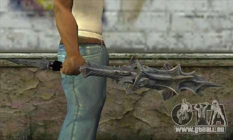 Daedric Sword pour GTA San Andreas troisième écran