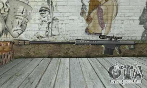 Barrett M82 für GTA San Andreas