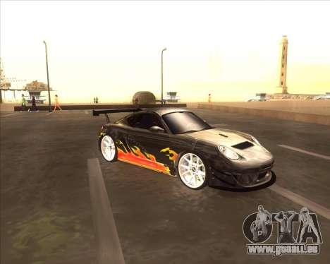 Porshe Cayman S из NFS MW pour GTA San Andreas