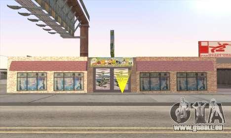 Boutique De Nourriture Saine pour GTA San Andreas