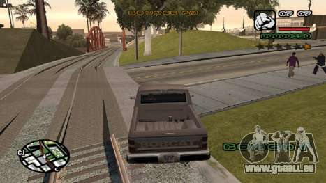 Neue schriftart V.2 für GTA San Andreas dritten Screenshot