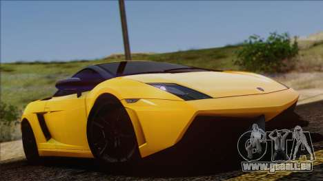Lamborghini Gallardo LP570-4 Edizione Tecnica pour GTA San Andreas vue de côté