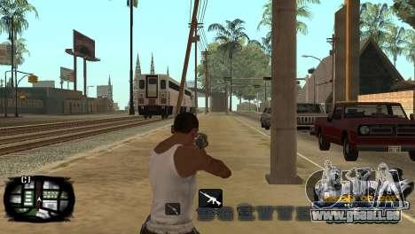 C-HUD Kings of Rap pour GTA San Andreas cinquième écran
