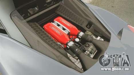 Ferrari 458 Italia für GTA 4 Innenansicht