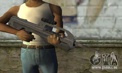 Halo 2 Battle Rifle für GTA San Andreas dritten Screenshot