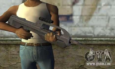 Halo 2 Battle Rifle pour GTA San Andreas troisième écran