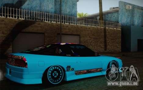 Nissan 240SX Drift Stance für GTA San Andreas zurück linke Ansicht