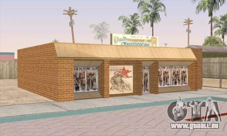 Boutique De Nourriture Saine pour GTA San Andreas cinquième écran