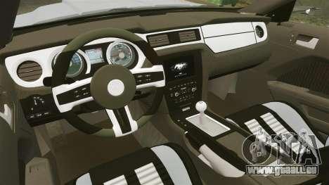 Ford Mustang GT 2013 NFS Edition pour GTA 4 est un côté