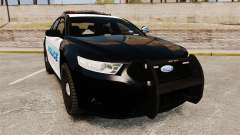 Ford Taurus Police Interceptor 2013 [ELS] pour GTA 4