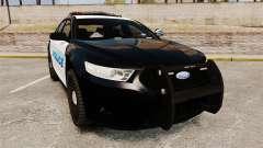 Ford Taurus Police Interceptor 2013 [ELS]
