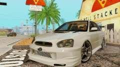 Subaru Impreza WRX Lager