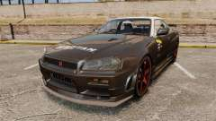 Nissan Skyline GT-R NISMO S-tune Amuse Carbon R