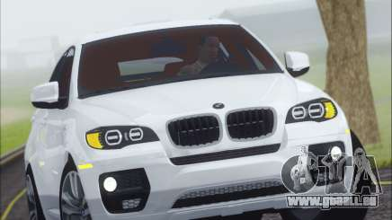 BMW X6 M 2013 Final pour GTA San Andreas