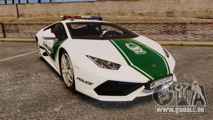 Lamborghini Huracan Cop [ELS] für GTA 4