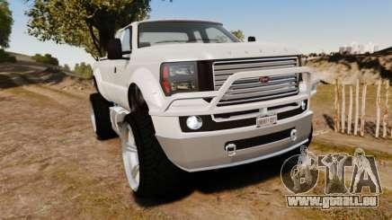 GTA V Vapid Sandking XL wheels v1 pour GTA 4