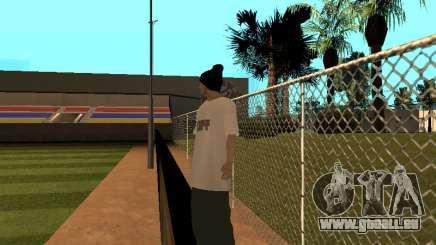 La peau Traceur GPF Équipe pour GTA San Andreas