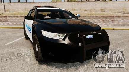 Ford Taurus Police Interceptor 2013 [ELS] für GTA 4