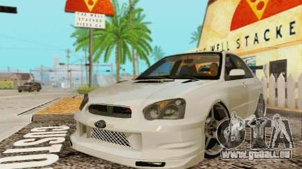 Subaru Impreza WRX Lager für GTA San Andreas