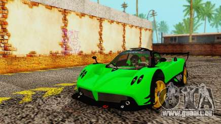 Pagani Zonda Type R Green pour GTA San Andreas