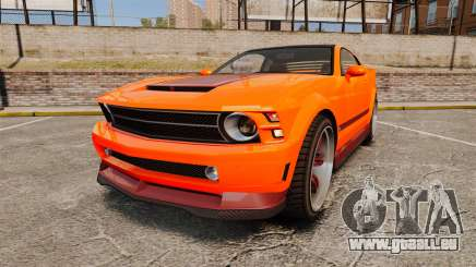 GTA V Vapid Dominator wheels v2 pour GTA 4