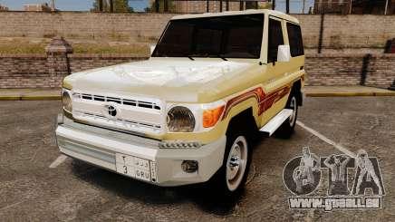 Toyota Land Cruiser 70 2014 pour GTA 4