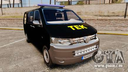 Volkswagen Transporter T5 Hungarian TEK [ELS] pour GTA 4