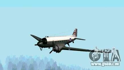 C-47 Dakota USAF für GTA San Andreas