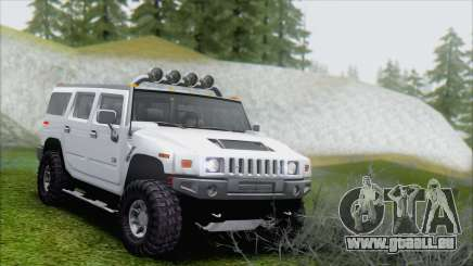 Hummer H2 Tunable pour GTA San Andreas