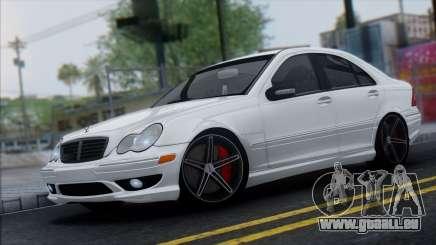 Mercedes-Benz C32 Vossen für GTA San Andreas