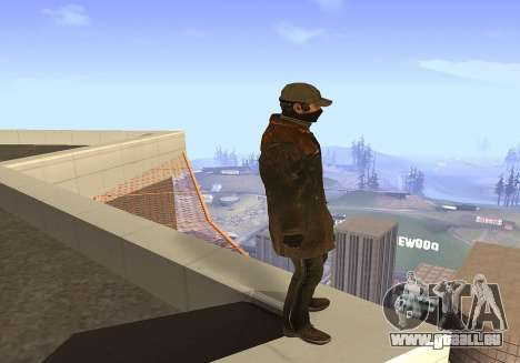 Aiden Pearce für GTA San Andreas dritten Screenshot