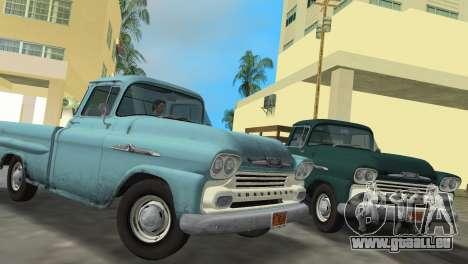 Chevrolet Apache Fleetside 1958 pour GTA Vice City