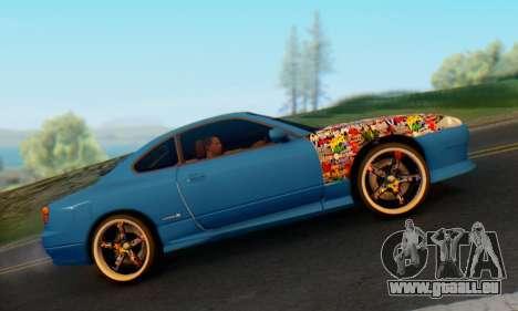Nissan Silvia S15 Metal Style für GTA San Andreas rechten Ansicht